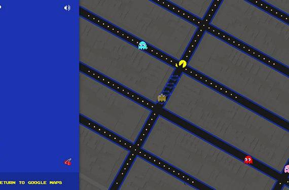 Google Maps turned your streets into Pac-Man today
