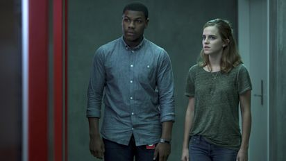The Circle review – Emma Watson and Tom Hanks face off in empty techno-thriller