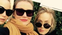 Adele unites with Jennifer Lawrence at Women's March