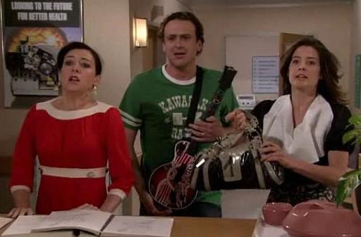 Screen Grabs: Guitar Hero on HIMYM, pants not required