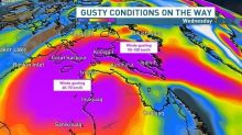 Snow, gusting wind headed for southern Baffin Island