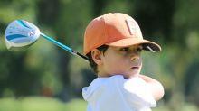 Revelado no Campo Olímpico de Golfe, garoto de 7 anos já se destaca