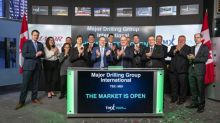 Major Drilling Group International Inc. Opens the Market