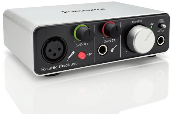 Focusrite launches iTrack Solo, a two channel interface for iOS and desktops (video)