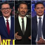 Late night hosts can't believe Trump's Ukraine 'henchmen' left a 'literal paper trail' of impeachment evidence