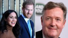 Piers Morgan hits out at 'staggering disrespect' of Harry and Meghan towards the Queen after dropping branding plans