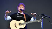 Ed Sheeran halts building chapel in back garden to search for endangered newts