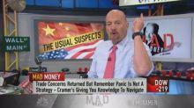 Cramer flags Mastercard and Visa's 'unbeatable' hedges ag...