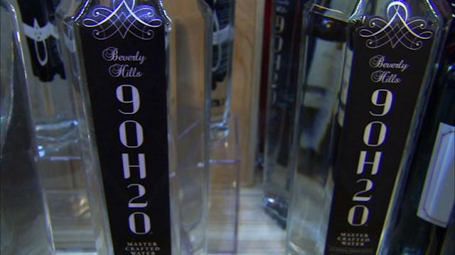 Beverly Hills 9OH2O luxury water put to test