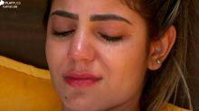 """""""A Fazenda"""": Hariany chora após segundo término com Lucas"""