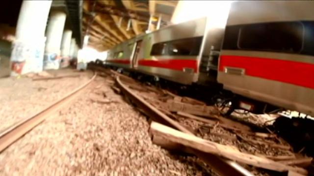 New Video From Commuter Train Derailment