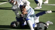 Cowboys ganan a Giants; pierden a Prescott con seria lesión
