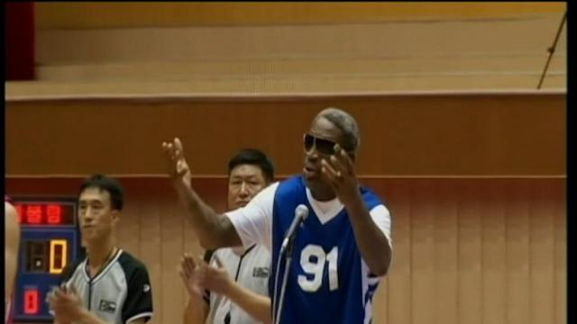 Dennis Rodman Gets Angry in Interview on North Korea