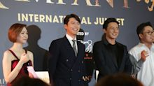 Korean zombie movie 'Rampant' red carpet premiere in Singapore