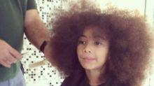 Samara Felippo dá lição de emponderamento ao falar sobre cabelo cacheado da filha