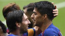 """FC Barcelona: Luis Suarez ist """"stolz"""" auf Lionel Messis Abschiedsworte"""
