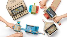 Nintendo Surprises With Cardboard Accessories for Switch