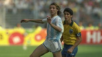 Argentina vs. Brasil en Italia '90: cuando ser superior no alcanza