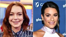 Lindsay Lohan Has Blunt Response To Lea Michele's 'Little Mermaid' Casting