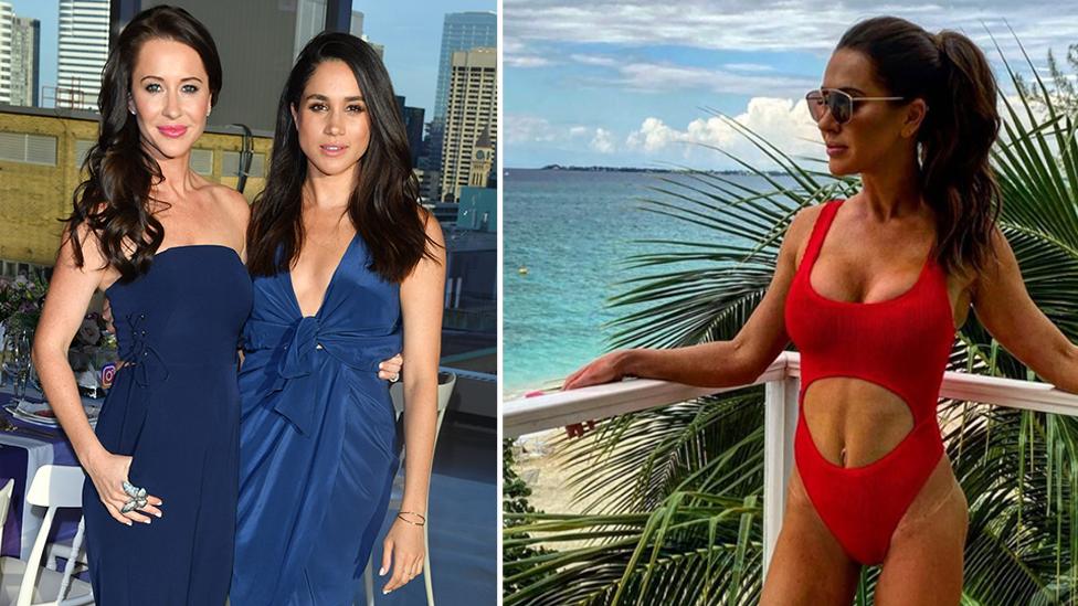 Meghan Markle's best friend fires back after divisive swimsuit photo