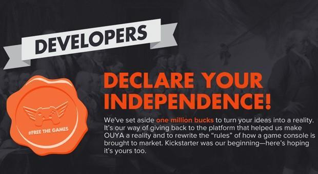 OUYA revises Free the Games Fund to lower project goals, reduce exclusivity