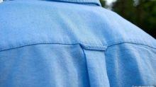 Voici la raison pour laquelle les chemises des hommes ont une petite boucle à l'arrière