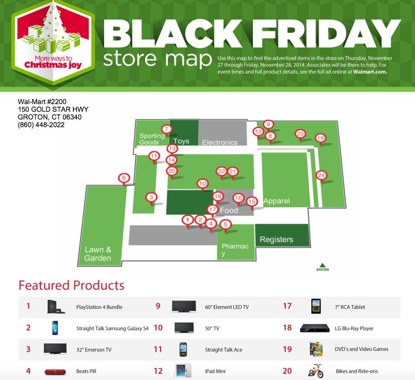 Walmart Black Friday 2014 Map How to find out where Walmart has stashed your precious Black