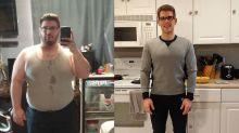 """Após perder 56 kg, Nicholas La Monaco diz: """"Meus óculos, sapatos e aliança não me servem mais"""""""