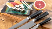 Replace dull kitchen knives with this excellent set — now 75 percent off