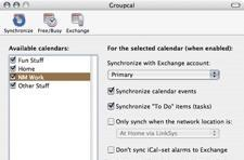Groupcal 3: manage your Exchange calendar from iCal