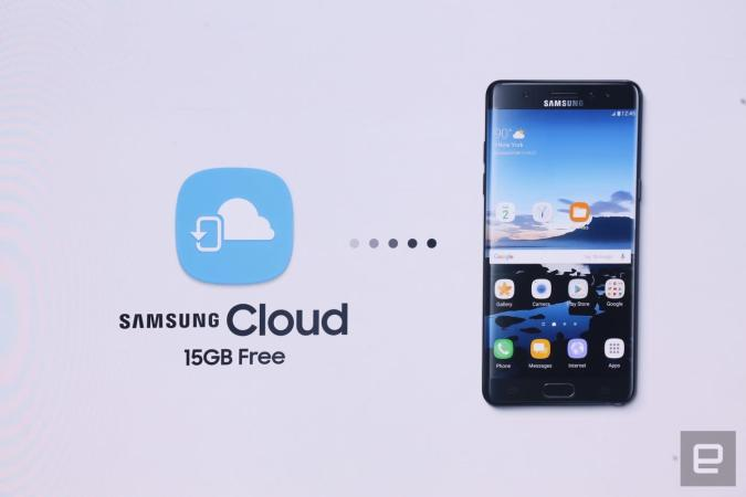 Samsung Cloud safeguards your phone's data