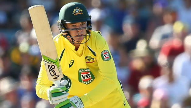 Handscomb played a brilliant knock of 73 runs