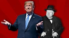 Trump and Churchill: A new book looks at both, and chooses Trump
