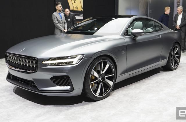 Volvo's performance EV brand kicks off in Geneva