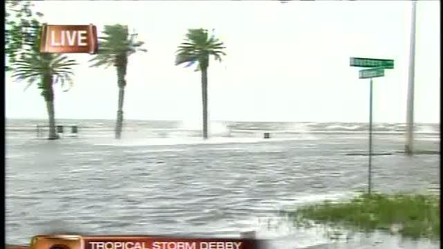 Tropical Storm Debby damages South Tampa