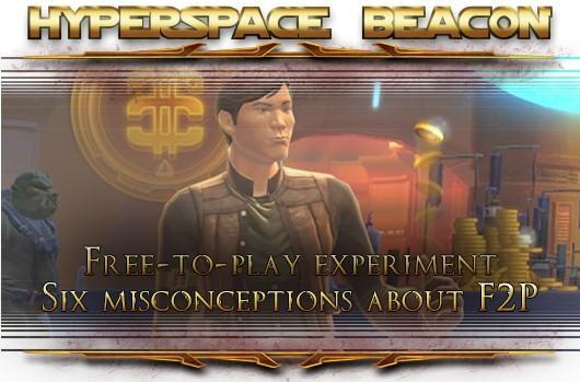 Hyperspace Beacon: Six misconceptions about SWTOR free-to-play