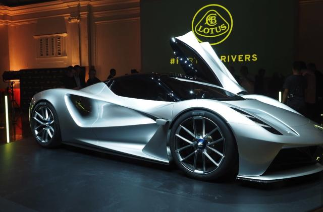 Lotus has already sold out of its electric hypercar for 2020