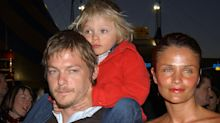 Norman Reedus and Helena Christensen are friendly exes at son's high school graduation