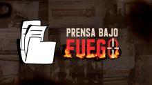Prensa Bajo Fuego: una iniciativa contra las agresiones en el gobierno de Bonilla