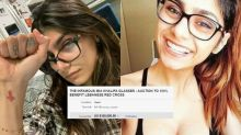 Mia Khalifa Has Put Her 'Used and Abused' Glasses Up for Auction to Support Lebanon