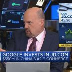 Google's ambitions could be changing globally with JD.com...