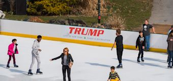 Trump's company wipes name from skating rinks