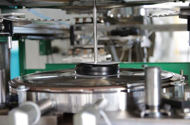 Vinyl record production has finally joined the modern age