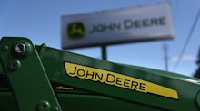 Deere sales slide but beat expectations; Foot Locker posts wider than expected loss