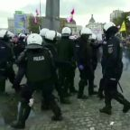 Thousands protest against COVID-19 curbs in Poland