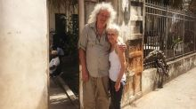 Brian May Shares Photos from 'Pilgrimage' to Freddie Mercury's Childhood Home in Zanzibar