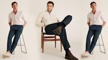 M&S' top-rated men's chinos come with extra stretch (and are only £19.50)