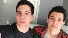 Identical twins transition together after coming out as transgender