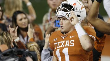 Herman, Ehlinger brush off criticisms of Texas QB