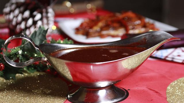 How To Make Red Wine And Clementine Gravy